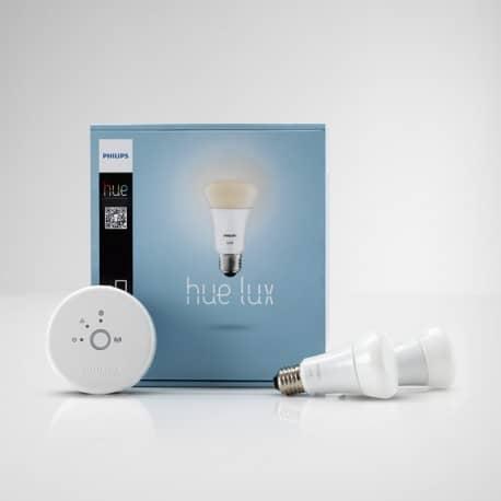 Sistem de iluminat personalizat Philips LUX 9W A19 E27 set EUR