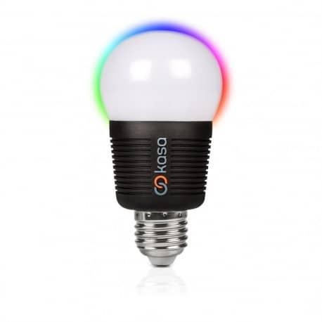 Bec inteligent LED cu Bluetooth Veho Kasa - lumina multicolora RGB