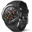 Smartwatch Huawei Watch W2, 4G, bratara Carbon Black Sport