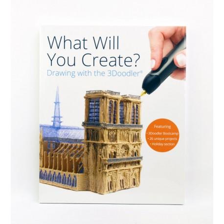 Carte proiecte, modele si instructiuni pentru creion 3D 3Doodler Create