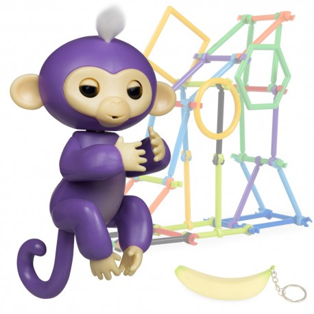 Jucarie interactiva Finger Monkey