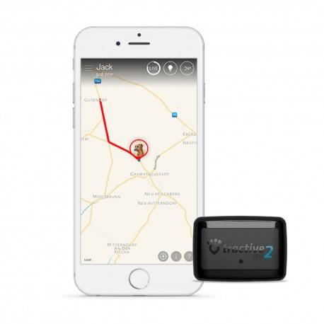 RESIGILATE - Dispozitiv localizare GPS animale companie Tractive 2 cu monitorizare activitati