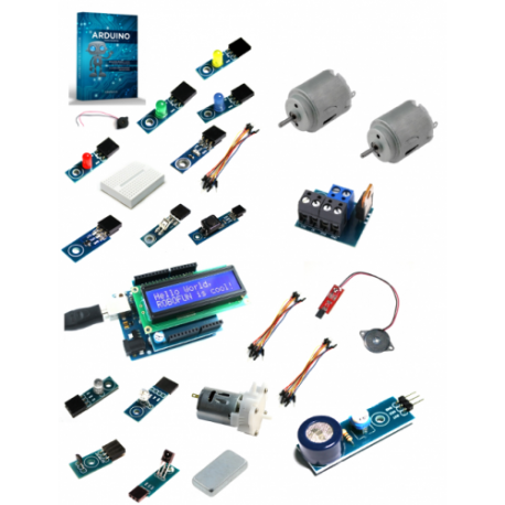 Kit Robofun Arduino pentru incepatori - Platinum
