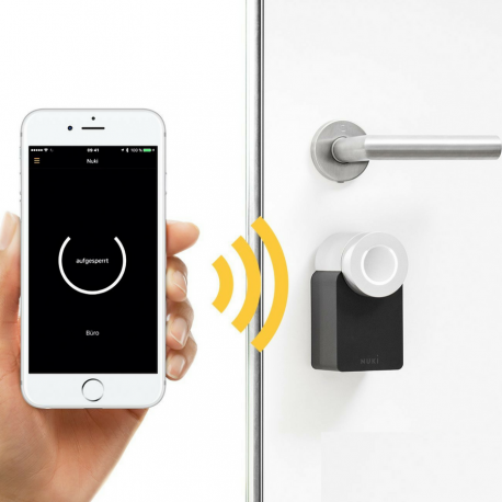 Incuietoare inteligenta Bluetooth Nuki Smart Lock